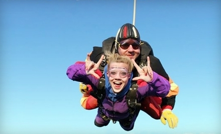 $155 for Ground-School Training and an AFF Solo or Tandem Skydive ($309 Value) or $119 for a Tandem Jump (Up to $199 Value) with Skydive Sacramento