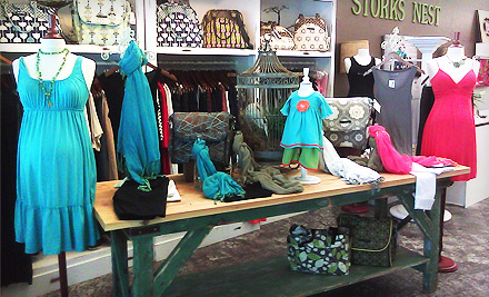 $20 for $40 Toward Maternity and Baby Clothing and Accessories at Stork's Nest in Danville