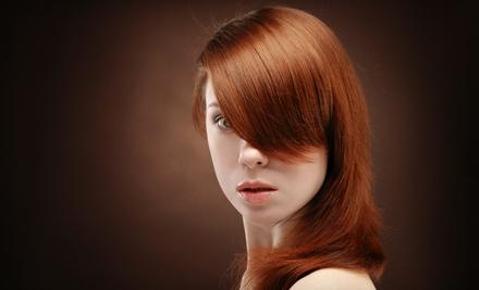 Women's Cut, Color, or Keratin Treatment at Headlines Salon in San Rafael