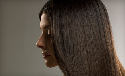 $75 for a Keratin Hair-Smoothing Treatment at Aries Salon in Sarasota ($150 Value)