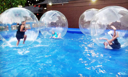 One, Two, or Four Hamster-Ball Rides at Water Ball Entertainment LLC at International Marketplace (Up to 57% Off)
