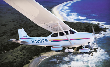 $139 for and Intro to Flying Lesson or Intro to Flying Package with Flight Training and Aircraft Rental from Wings Aloft (Up to 46% Off)