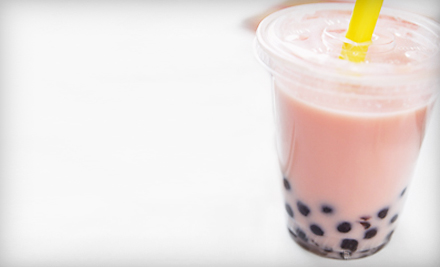 $12 for Five Bubble Teas, Smoothies, and Snacks at Tapioca Express in Berkeley (Up to $25 Value)