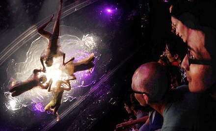 ... ticket to Fuerza Bruta: Look Up at Daryl Roth Theatre (a $79 value).
