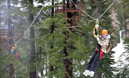$125 for a Zipline Experience for Two at Zip Tahoe at Kirkwood Mountain Resort ($250 Value)