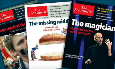 """$51 for 51-Issue Subscription to """"The Economist"""" ($126.99 Value)"""