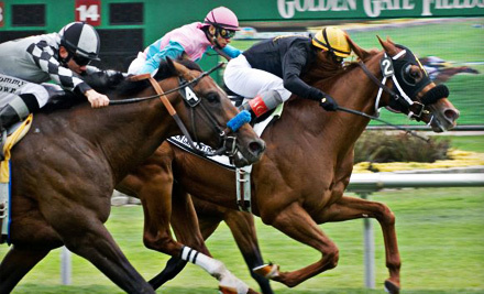 $15 for Horseracing Outing with Upscale American Cuisine at Golden Gate Fields in Berkeley (Up to $31.50 Value)