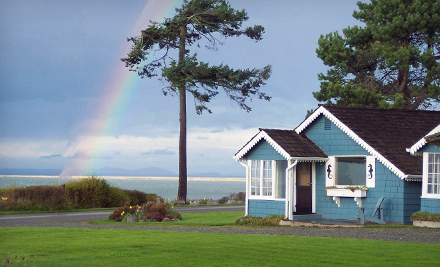 Two-Night Stays and Outdoor Activities at Juan de Fuca Cottages in Sequim (Up to 58% Off). Four Options Available.