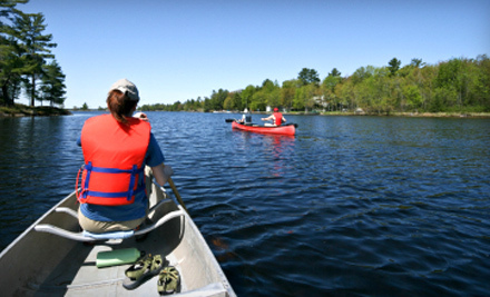 Weekday or Weekend Full- or Half-Day Canoe Trip from River's Edge Kayak & Canoe Trips in Healdsburg (Up to 51% Off)