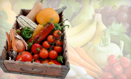 $17 for One Box of Organic Fruits and Vegetables with Delivery from Betty's Organics ($34 Value)