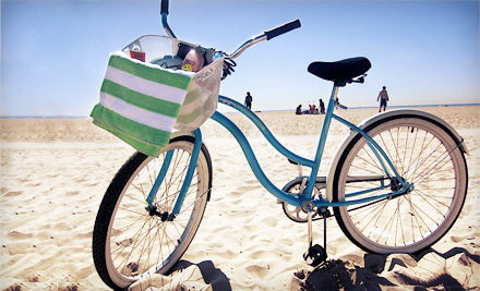 $10 for a Full-Day Beach-Cruiser Rental from Bike Curious Rentals in Venice Beach ($20 Value)