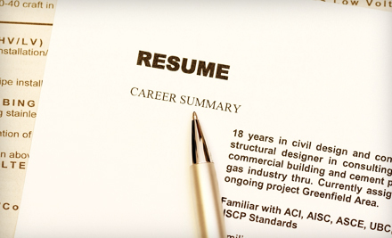 $85 for Professional Resumé and Cover-Letter Service from JMC Resumes, Ltd. ($260 Value)