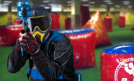 Paintball Package with Equipment Rental and Paintballs for One, Two, or Four at Escape in Rohnert Park (Up to 56% Off)