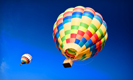 Hot Air Balloon Tour with Optional Winery Tour and Tasting from Balloon Over Napa Sonoma in Saint Helena (Up to 62% Off)