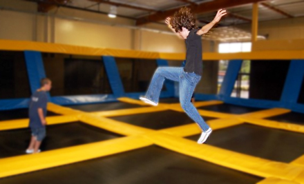 $9 for Two Hours of Trampoline Playtime at Great Jump Sports in Milpitas (Up to $18 Value)