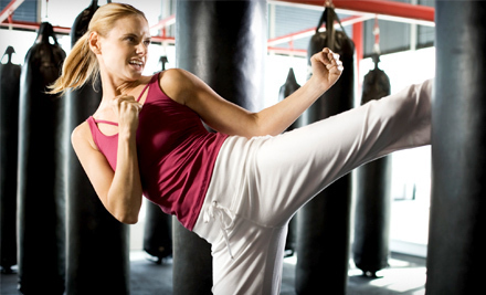 5 or 10 Fight Shape and Ground & Pound Kickboxing Classes at Crispim BJJ Barra Brothers in Pleasanton (Up to 81% Off)