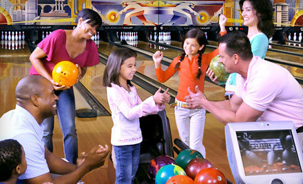Two Hours of Bowling and Shoe Rental for Two or Four at AMF Bowling Centers (Up to 64% Off). 2 Locations Available.