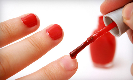 $32 for a Manicure and Pedicure with Salt Scrub and Hand-and-Foot Massage at Leann's Nails in Alameda ($65 Value)