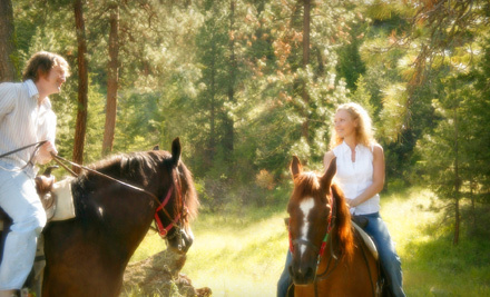60-Minute Horseback Trail Ride for One, Two, or Four from Hickory Creek Ranch in Spring Hill (Up to 63% Off)