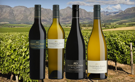 $45 for Four Bottles of Premium Imported Wine with Shipping Included from Radford Dale Wines ($135.75 Value)