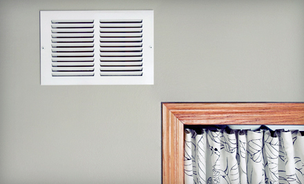 Air-Duct and Vent Cleaning with Furnace Inspection and Optional Dryer-Vent Cleaning from Mr. Clean Ducts (84% Off)