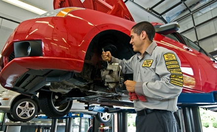 $18 for an Oil-Change Package at Precision Tune Auto Care (Up to $68.85 Value). Eight Locations Available.