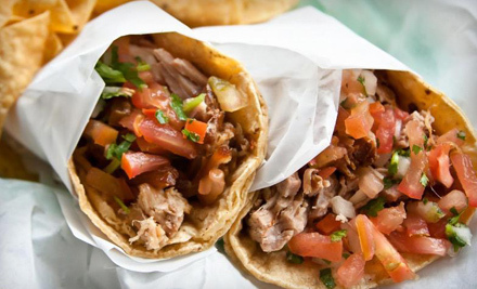 $10 for $20 Worth of Mexican Food at Gordo Taqueria