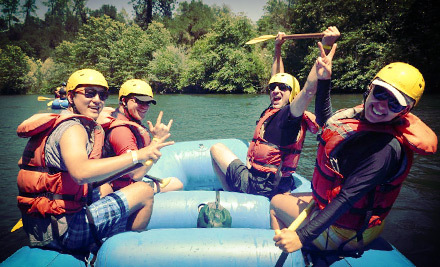 $135 for a Ropes Course and Rafting Adventure with Lunch from Mother Lode River Center ($228 Value). 10 Dates Available.
