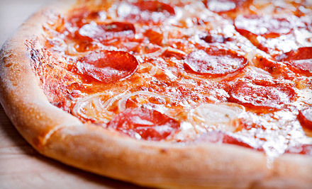 Pizza for Two or Four at Triple Seven Pizzeria (Up to Half Off). Four Options Available.