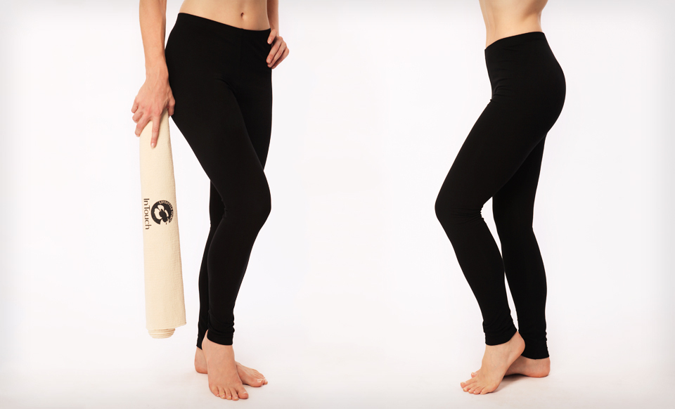 $29 for Two Pairs of Women's Athletica InTouch Organic Yoga Leggings in S/M or L/XL ($119.90 List Price). Free Shipping.