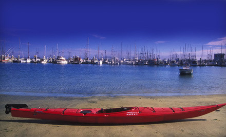 $20 for One-Hour Paddleboard or Single or Double Kayak Rental for Two from Half Moon Bay Kayak Co. ($40 Value)