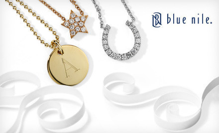 $50 for $100 or $100 for $200 worth of Jewelry and Gifts from Blue Nile