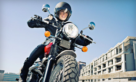 One Introductory or Intermediate Motorcycle Lesson, or One Scooter Lesson at Bay Riders Group (Up to 54% Off)