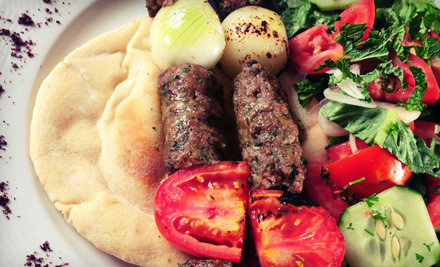 Mediterranean Food and Drinks for Two or Four at Zaki Kabob House