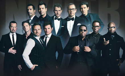 The Package Tour: New Kids on the Block with Special Guests 98° & Boyz II Men at HP Pavilion at San Jose on July 7