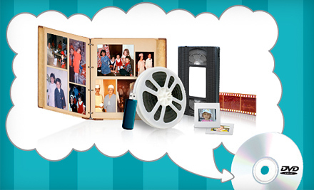 $  19 for $  60 Worth of Digital Conversion Services of VHS, Photos, Film Reels, and More from YesVideo