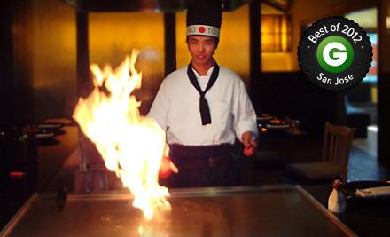 Japanese Teppanyaki Meal for Two or $ 10 for $ 20 Worth of Japanese Cuisine at Koto Teppanyaki & Sushi