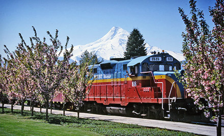 Four-Hour Scenic Train Tour from Mount Hood Railroad (Up to 51% Off). 23 Options Available.