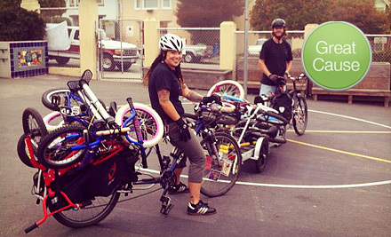 $10 Donation to Help Fund a Mobile Bicycle Trailer