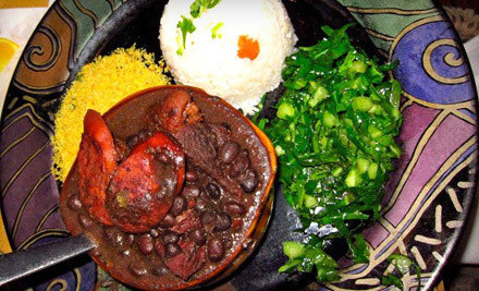 Brazilian Dinner for Two or Four at Canto Do Brasil Restaurant (Up to Half Off)