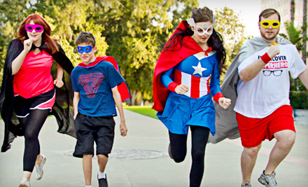 Regular or VIP Entry to Superheroes 5K on Sunday, June 16 (Up to 55% Off)