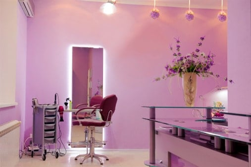 how to build your own hair salon