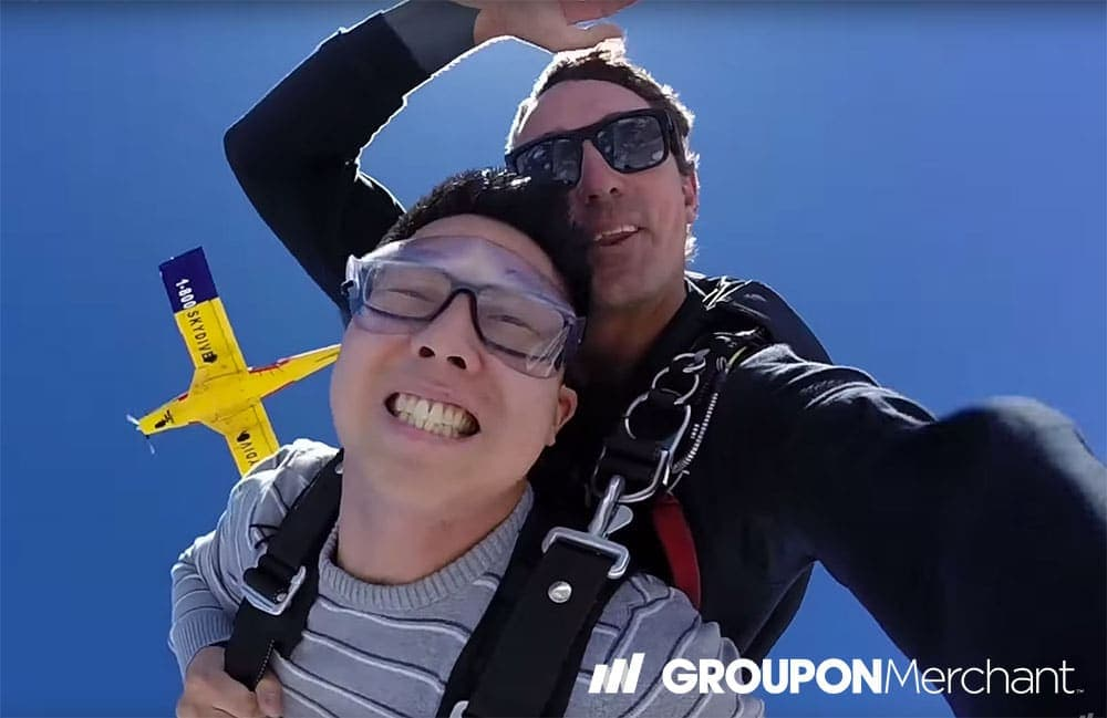 Groupon Case Study: GoJump Oceanside Skydiving – Local Activities Marketing That Works
