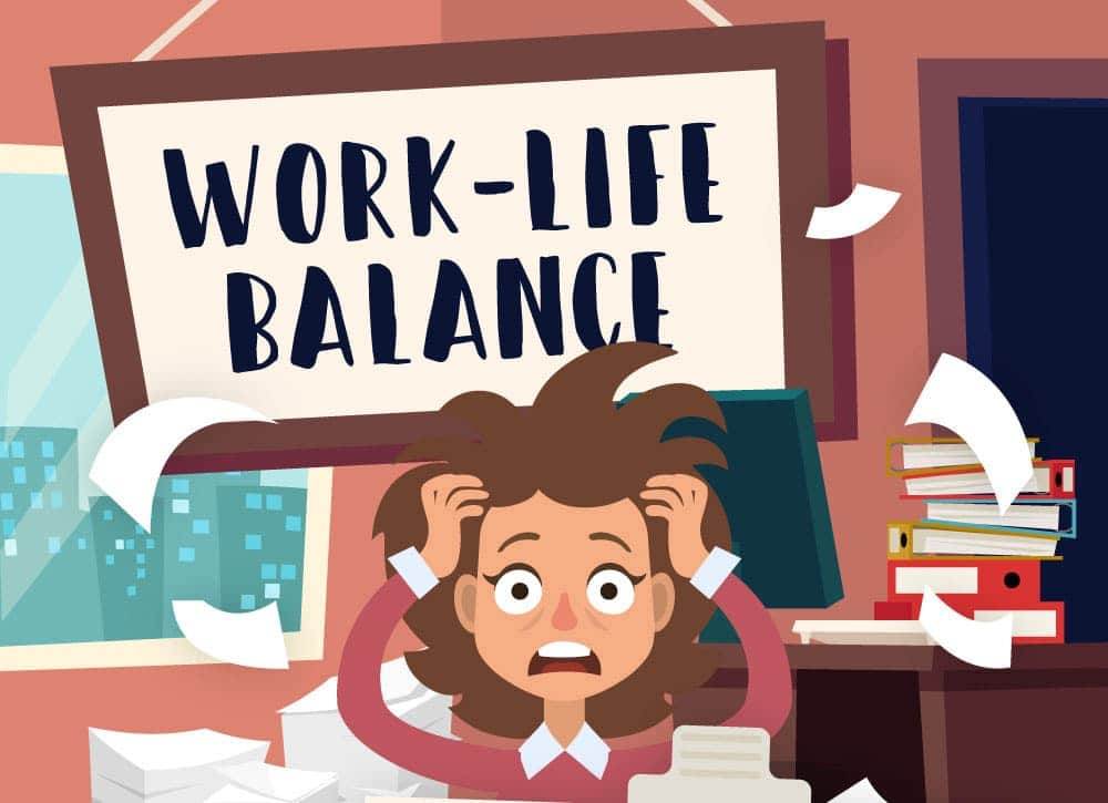 Work-Life Balance, The Struggle Is Real (Infographic)
