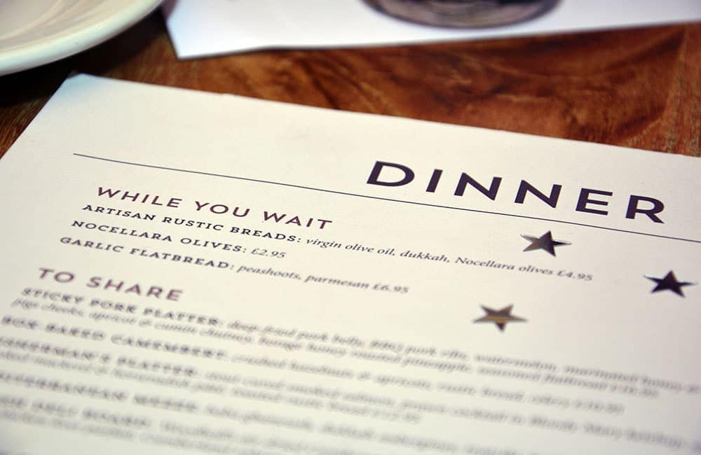 Use Your Menu Design to Promote High-Margin Dishes and Increase Restaurant Profits