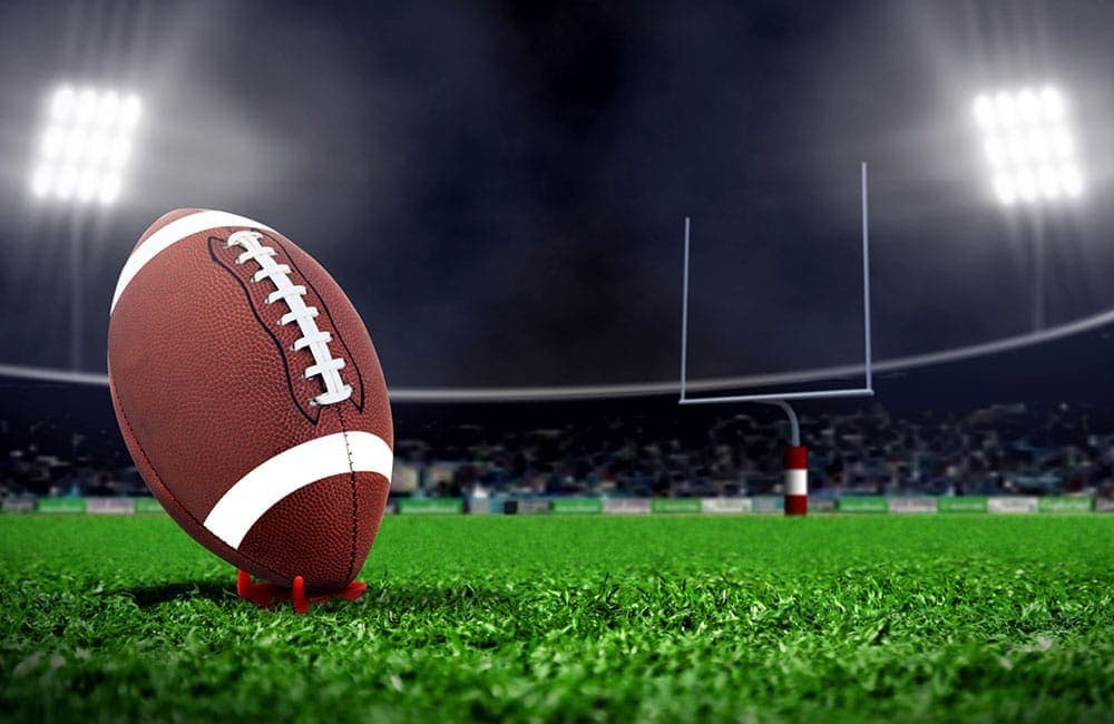 American Football Background Page: Groupon Merchant