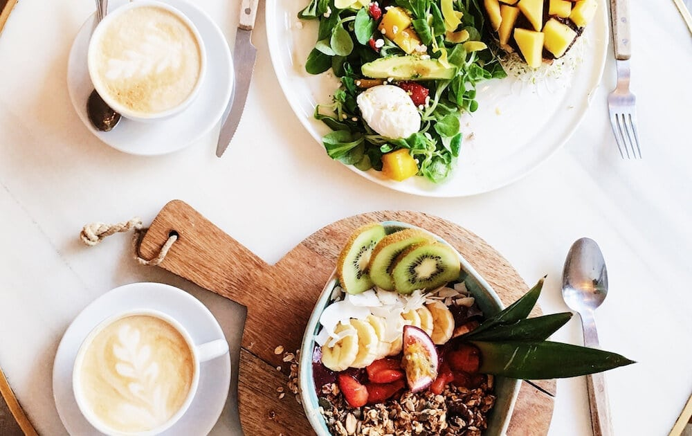 Brunch Menu Ideas For Successful Restaurants Table With Food And Coffee